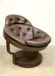 Noorse design fauteuil stoel space age stijl vintage retro
