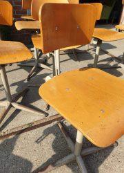 vintage Dutch Friso Kramer stools barstools Ahrend de Cirkel