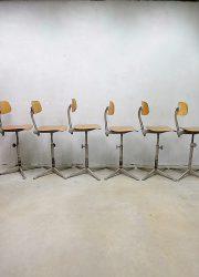 Ahrend de Cirkel krukken stools Industrial Friso Kramer 6