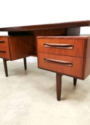 midcentury modern vintage desk Victor Wilkins G plan vintage design