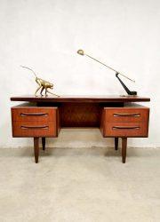 Mid Century Teak Desk vintage bureau Victor Wilkins for G-Plan 1960s 5