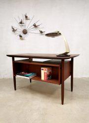 Tibergaard desk Danish design bureau vintage midcentury