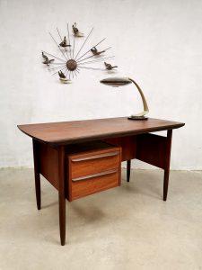 Vintage Danish design desk bureau Gunnar Nielson Tibergaard