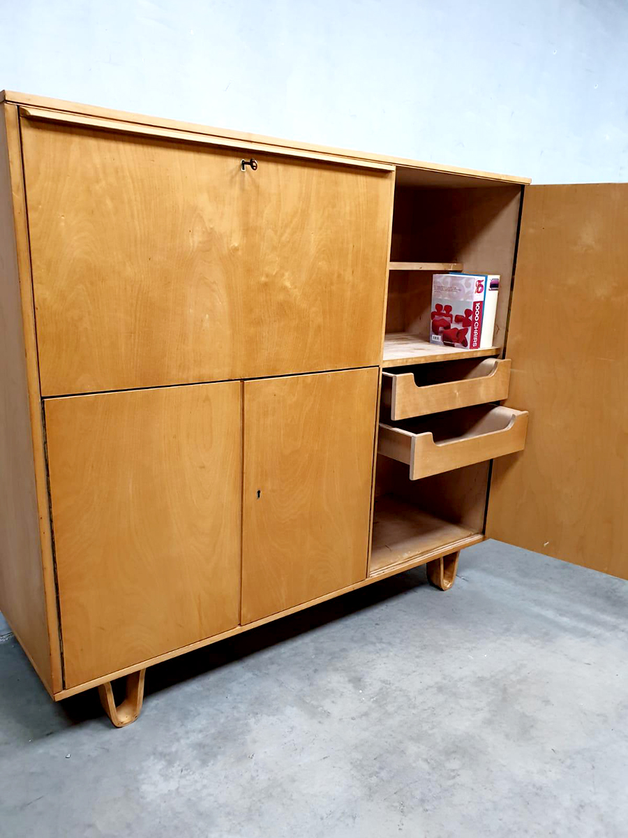 Vintage Cabinet Secretaire Kast Cabinet Pastoe Cees Braakman