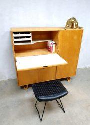 Vintage Dutch design secretaire cabinet Pastoe Cees Braakman CB01 kast 8
