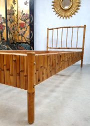 Vintage bamboo rattan daybed bed bamboe rotan
