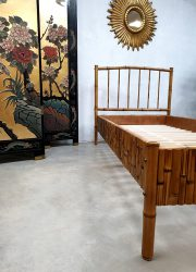 Bed bamboe daybed loungebed bamboo rattan rotan vintage