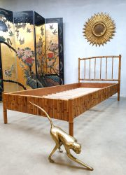 Vintage bamboo daybed bamboe bed Tropical vibes