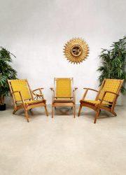 Vintage design Italian klapstoelen pool chairs folding beach chairs