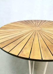 midcentury danish table Daneline tuinset outdoor table tuintafel