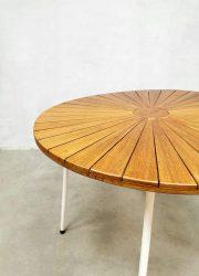 Diningset tuinset garden table tafel chairs stoelen Denmark Daneline teak Midcentury design