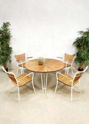 Midcentury Danish design garden lounge set tuinset Daneline