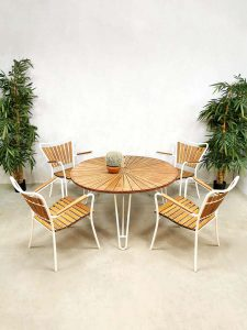 Midcentury Danish design garden lounge set tuinset Daneline