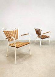 vintage tuinset garden outdoor set lounge chairs lounge fauteuils