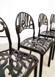 Vintage 'Hello there' dining chairs eetkamerstoelen Jeremy Harvey Artifort