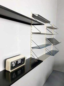 Vintage Dutch design wall unit wandrek Tjerk Reijenga Pilastro
