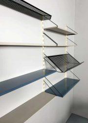 Industrial Dutch design wall unit wandrek industrieel
