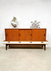 Midcentury Danish design cabinet sideboard dressoir