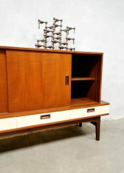 vintage design cabinet dressoir sideboard teak wood