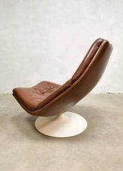 Vintage draaifauteuil Artifort swivel chair fauteuil F511 Geoffrey Harcourt