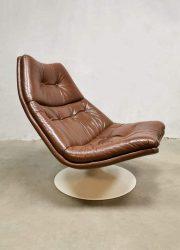 Midcentury modern Dutch design lounge chair Artifort stoel Geoffrey Harcourt
