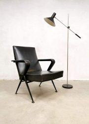 Vintage Dutch design floorlamp vloerlamp J.J.M. Hoogervorst Anvia