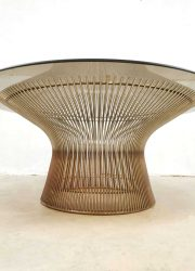 vintage salontafel coffee table Platner Warren Knoll USA