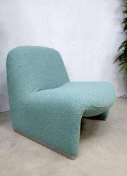 Vintage design Alky Castelli Artifort lounge chair fauteuil Ciancarlo Piretti