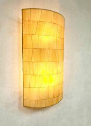 Vintage design wall sconce paper lamp Ingo Maurer style