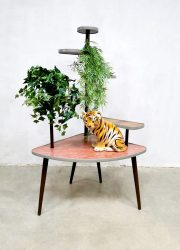 vintage retro plant stand plant table plantentafel jaren 50 60