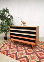 Vintage Czech design cabinet ladekast U-450 Jiri Jiroutek Interier Praha