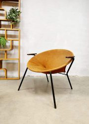 Vintage Danish Lea Hans Olsen balloon chairs lounge fauteuils