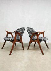 midcentury danish vintage design chairs lounge fauteuils armchairs Erhardsen Andersen