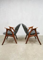 Midcentury Aage Christiansen fauteuils armchairs Danish design