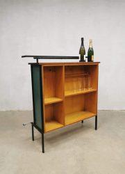 Barstools barkrukken krukken stools vintage cocktail bar drinks cabinet liquor seventies