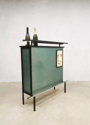 Cocktail bar barkruk kruk stools vintage seventies seventies drink cabinet liquor 1960 1970 retro