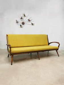 Midcentury vintage design sofa bank De Ster Gelderland