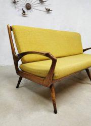 vintage Deense lounge bank Danish design lounge sofa Scandinavian