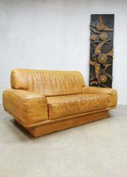 vintage Swiss design DS 40 De Sede midcentury sofa bank leather patina