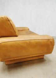 midcentury design sofa bank camel leather Switzerland De Sede