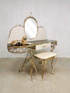 Baroque vintage console dressing table French Frans kaptafel design