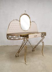 Baroque vintage dressing table French kaptafel Hollywood Regency style