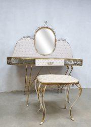 Vintage design kaptafel dressing table