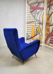 Midcentury modern design armchair fauteuil Zanuso style Arflex