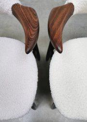 Tijsseling Hulmefa eetkamerstoelen dining chairs cowhorn koehoorn stoel