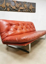 midcentury design sofa Artifort Kho Liang Ie bank