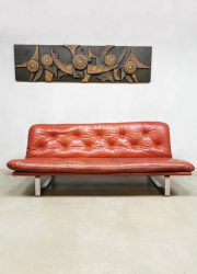 leather sofa bank Artifort Kho Liang ie
