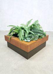 Danish vintage sixties plant stand plantenstandaard plantenbak