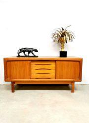 Midcentury Danish design sideboard dressoir Burchardt Nielsen