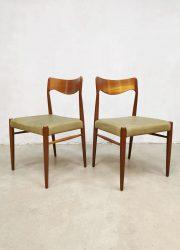 Niels O Moller eetkamerstoelen dining chairs